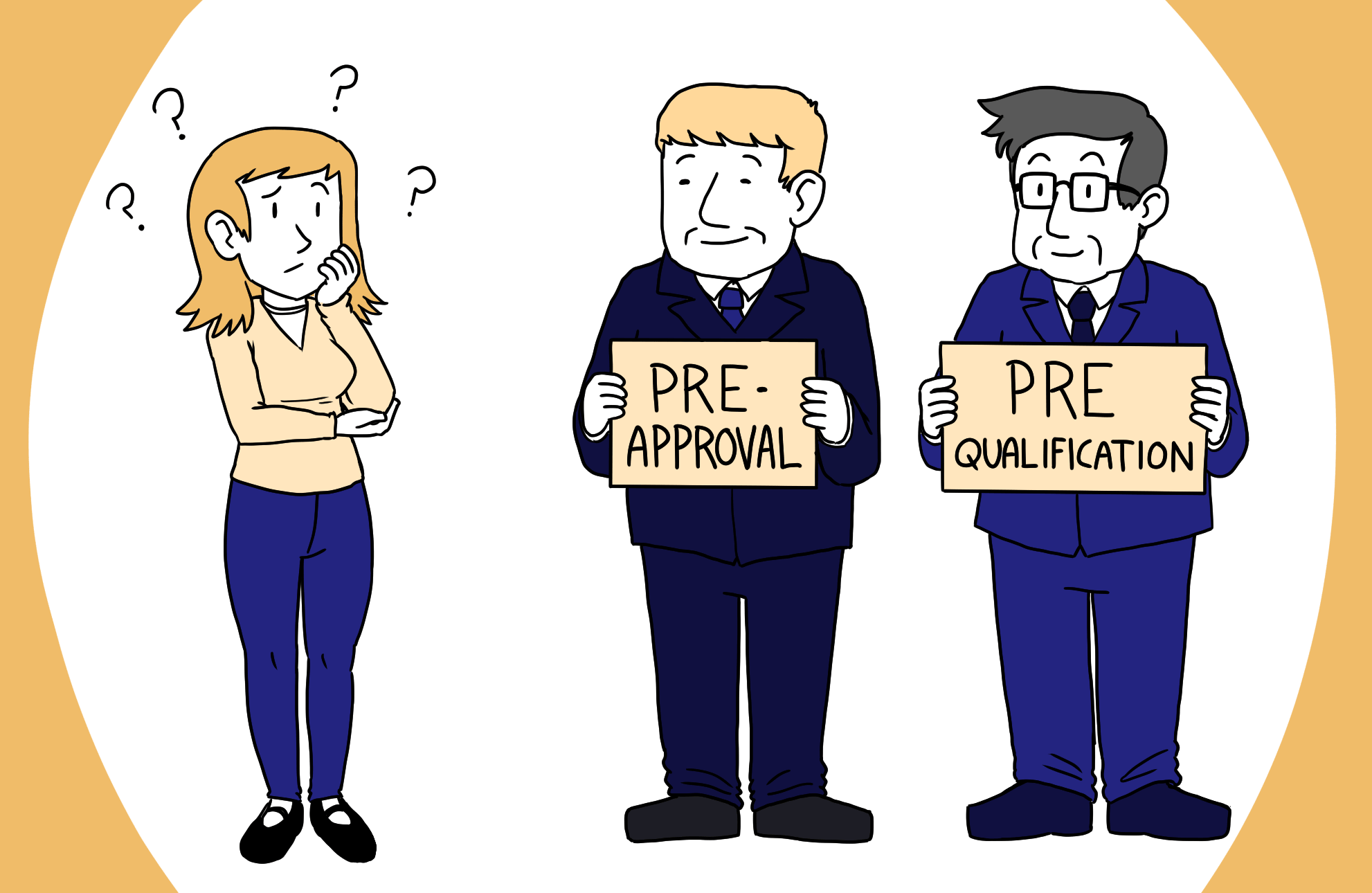 Buyer looking at two lenders trying to decide whether she needs a pre-approval or pre-qualification